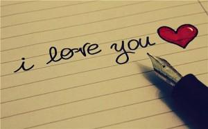 Writting I Love You